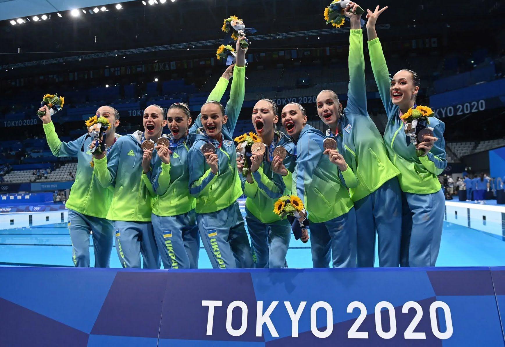 Збірна України по артистичному плавання на Олімпіади-2020