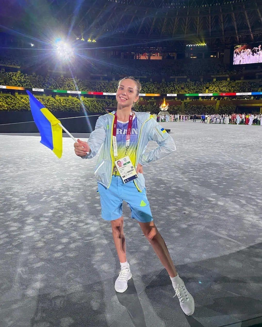 Аліна Шинкаренко на Олімпіаді