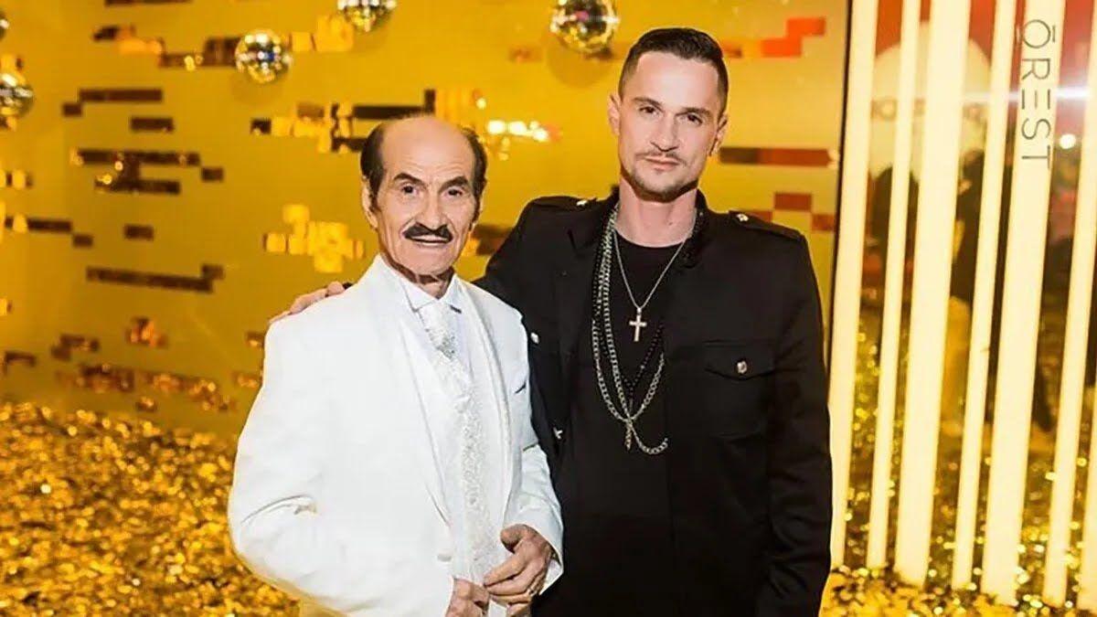 Григорий Чапкис со своим сыном