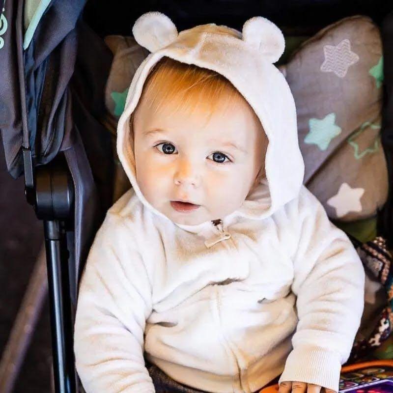 Сын Анни и Руслана Кудрявских, 14 месяцев