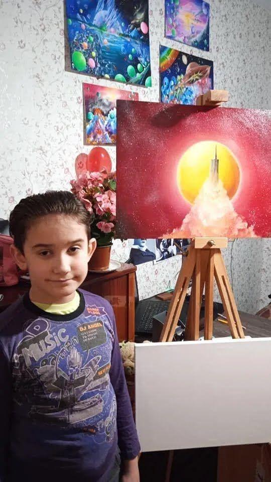 Хлопчика називають українським Пікассо
