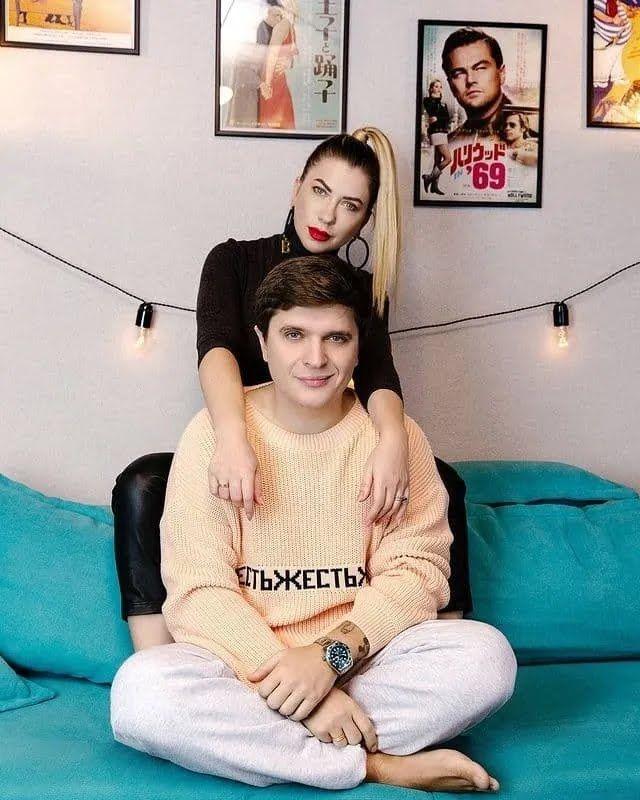 Анатолий Анатолич с женой.