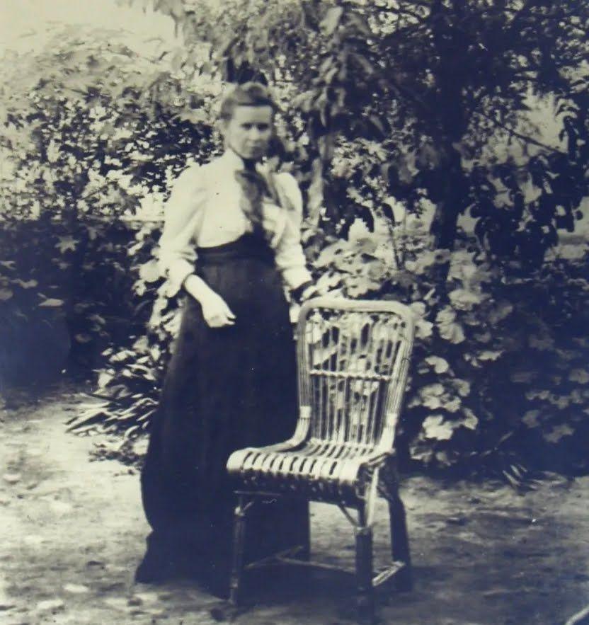 Леся Украинка в Египте, 1910 год.