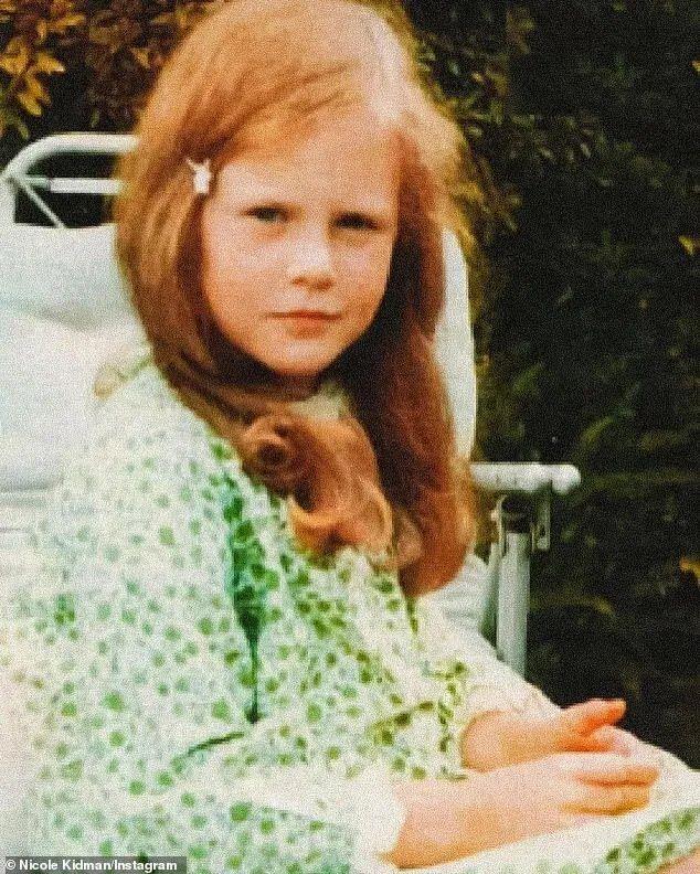 Николь Кидман показала себя в детстве.