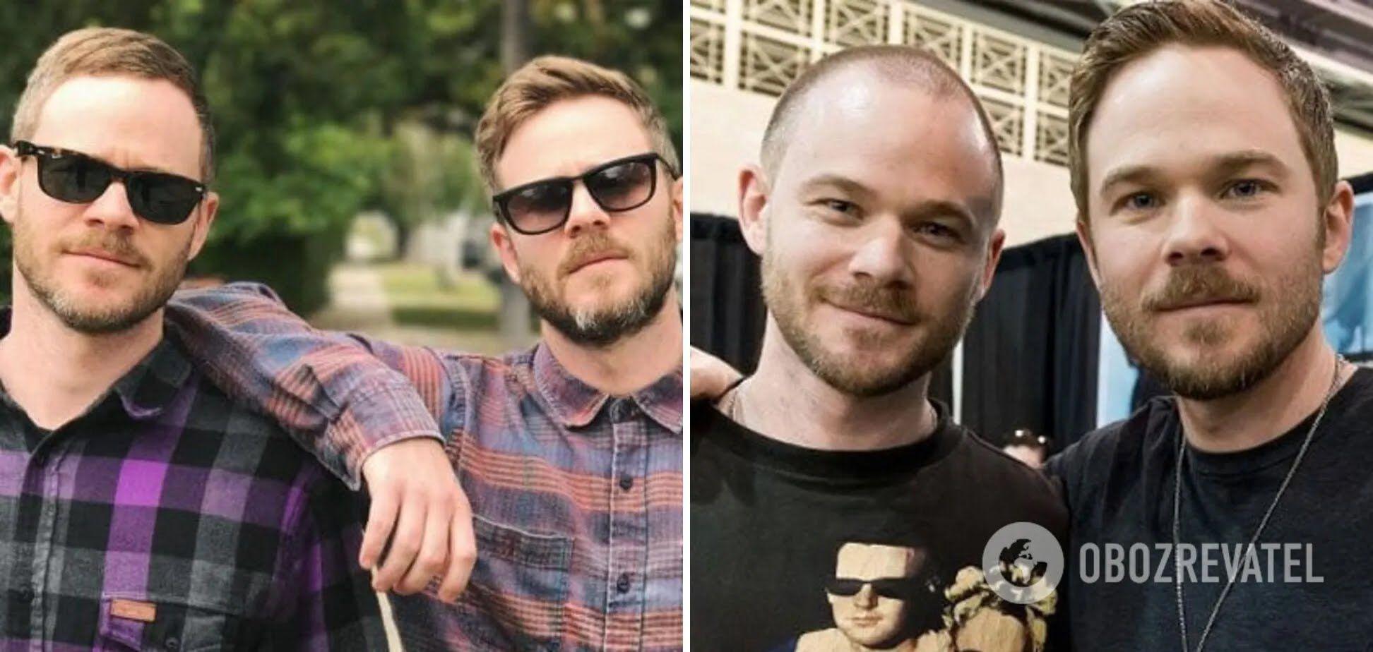Братья-близнецы Шон и Аарон Эшморы снимаются в голливудском кино