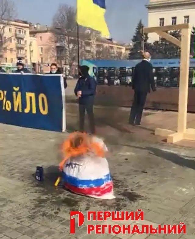 Матрешка на площади Свободы