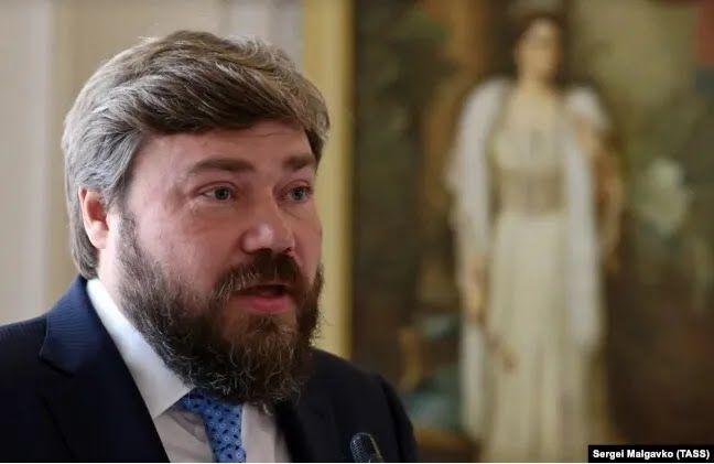 Оплачивал акцию Константин Малофеев