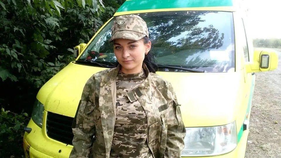 Катя пошла на войну добровольцем