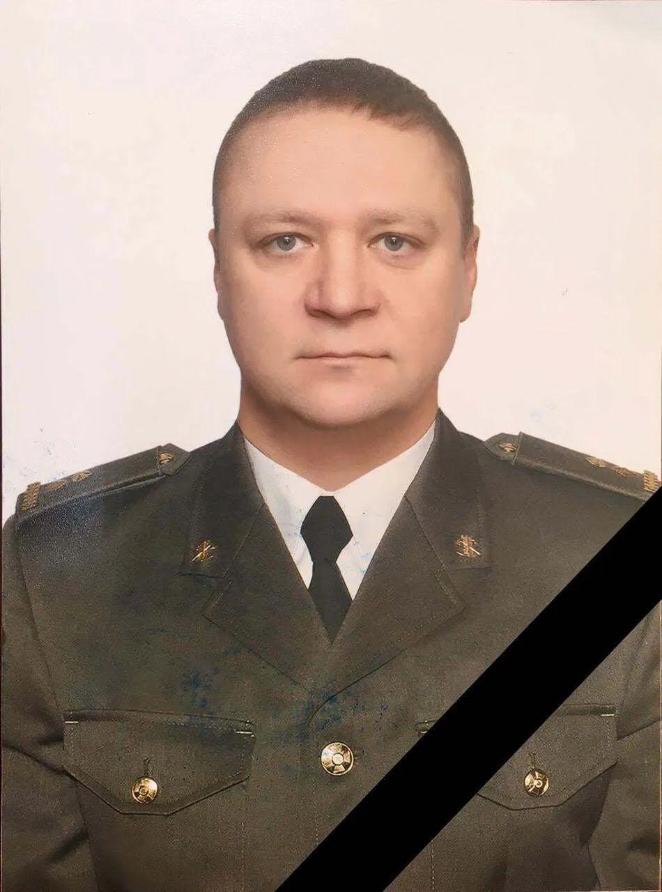 Погибший подполковник ВСУ.