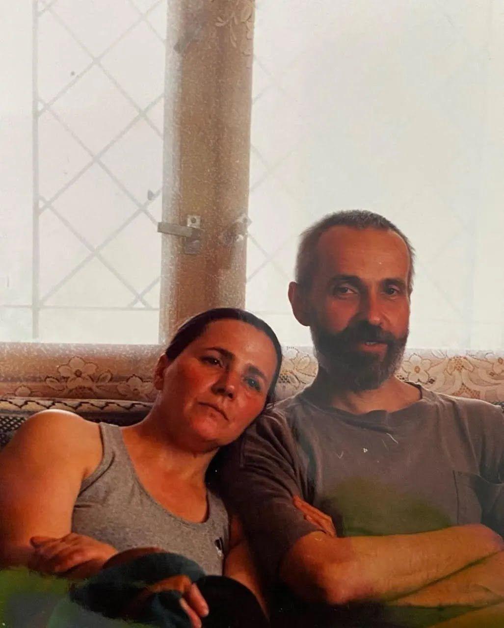 Нина Матвиенко с мужем Петром.