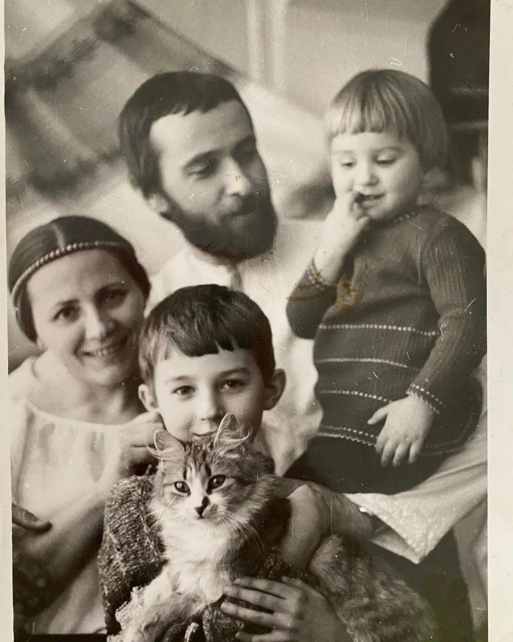 Семья Нины Матвиенко.