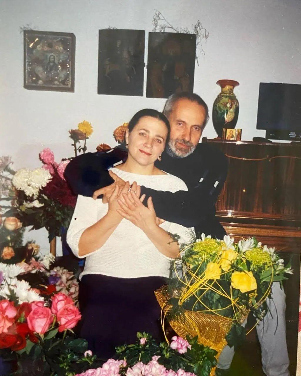 Нина Матвиенко с мужем празднуют золотую свадьбу.
