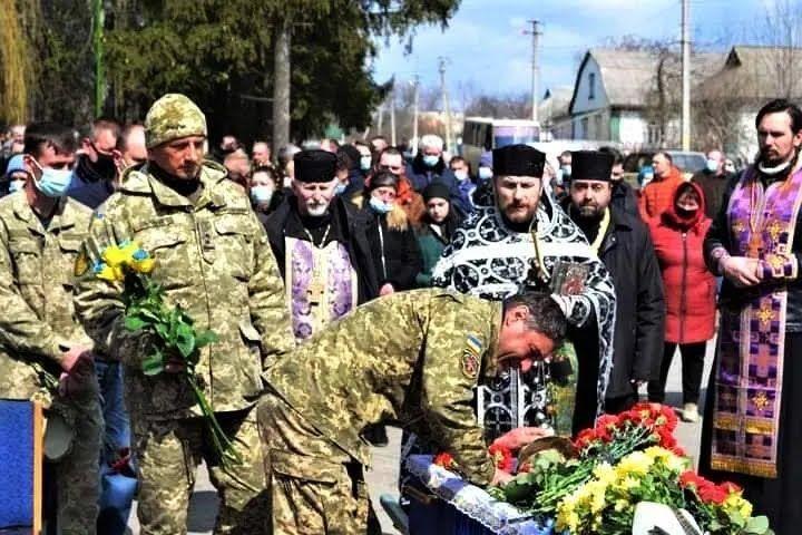 На Черкащині попрощалися з Владом Морозом.