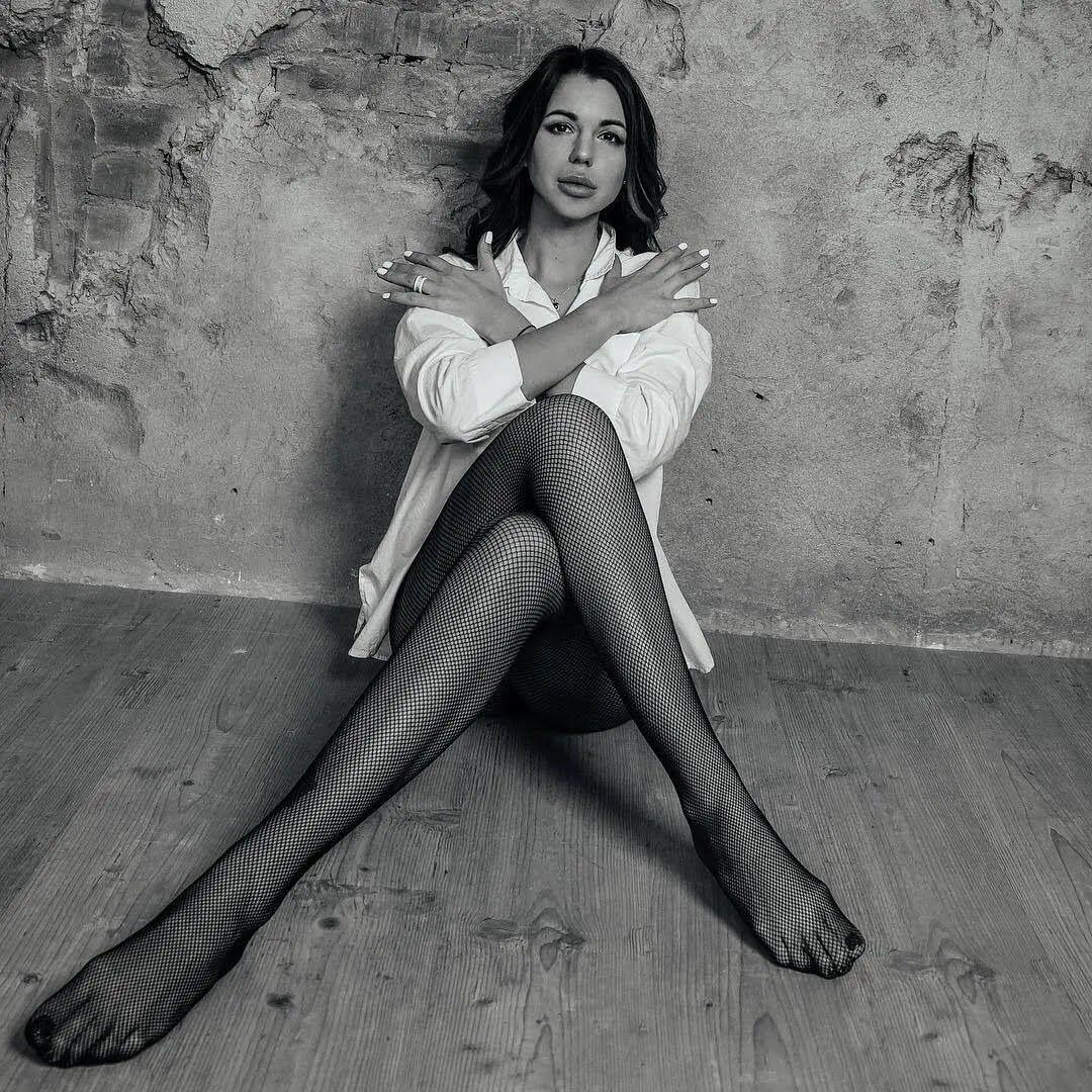 Алиса Чумак во время фотосессии