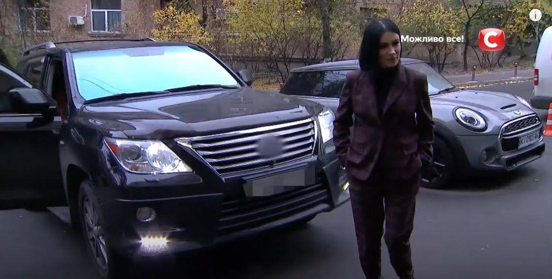 Lexus 570 Приходько, який вона придбала за 58 тисяч доларів