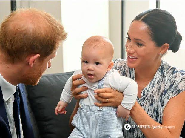 Принц Гарри и его сын Арчи на шестом и седьмом месте соответственно