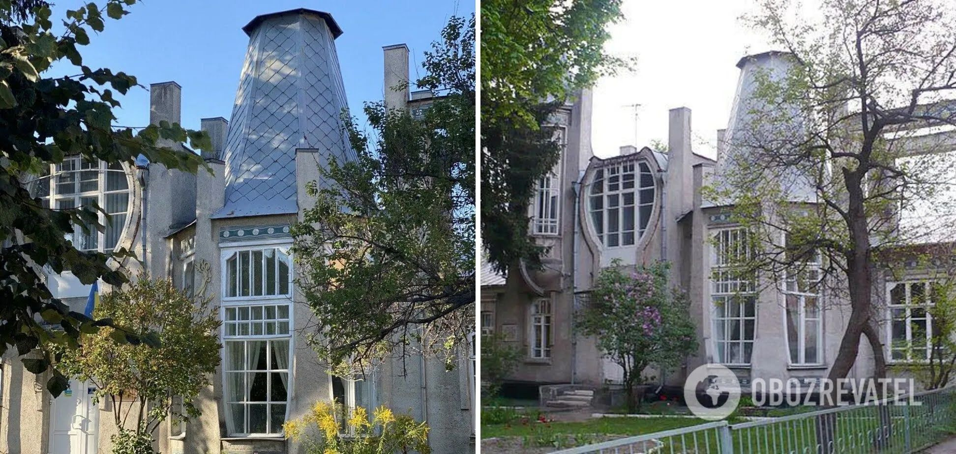 Художественная школа в Виннице похожа на замок.