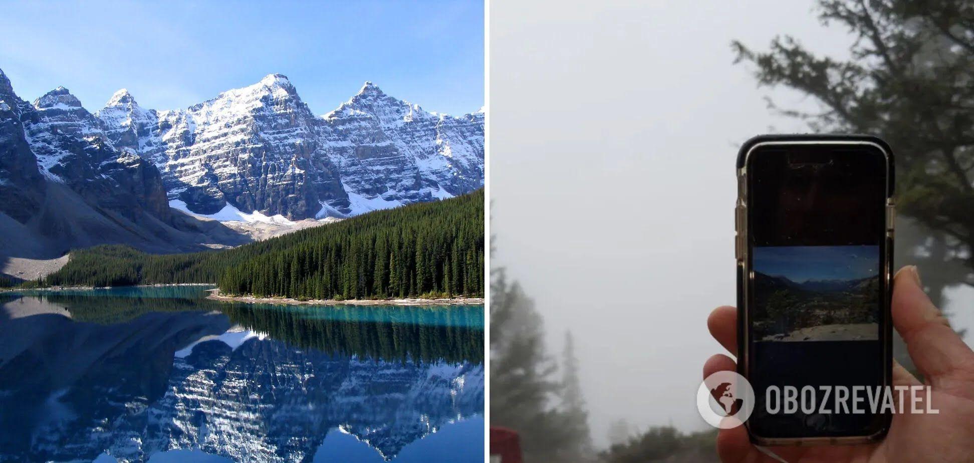 После многочасового подъема – туристы любовались туманом