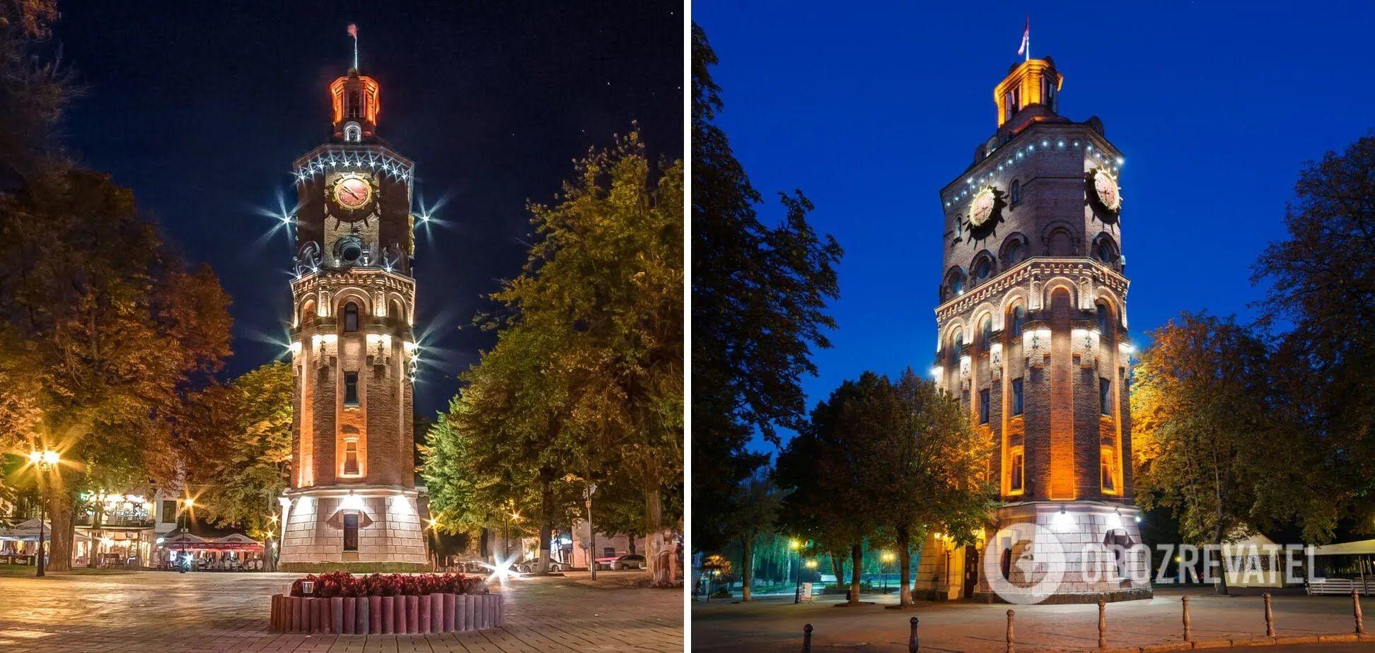Водонапорная башня в центре Винницы – самая красивая архитектурная постройка.