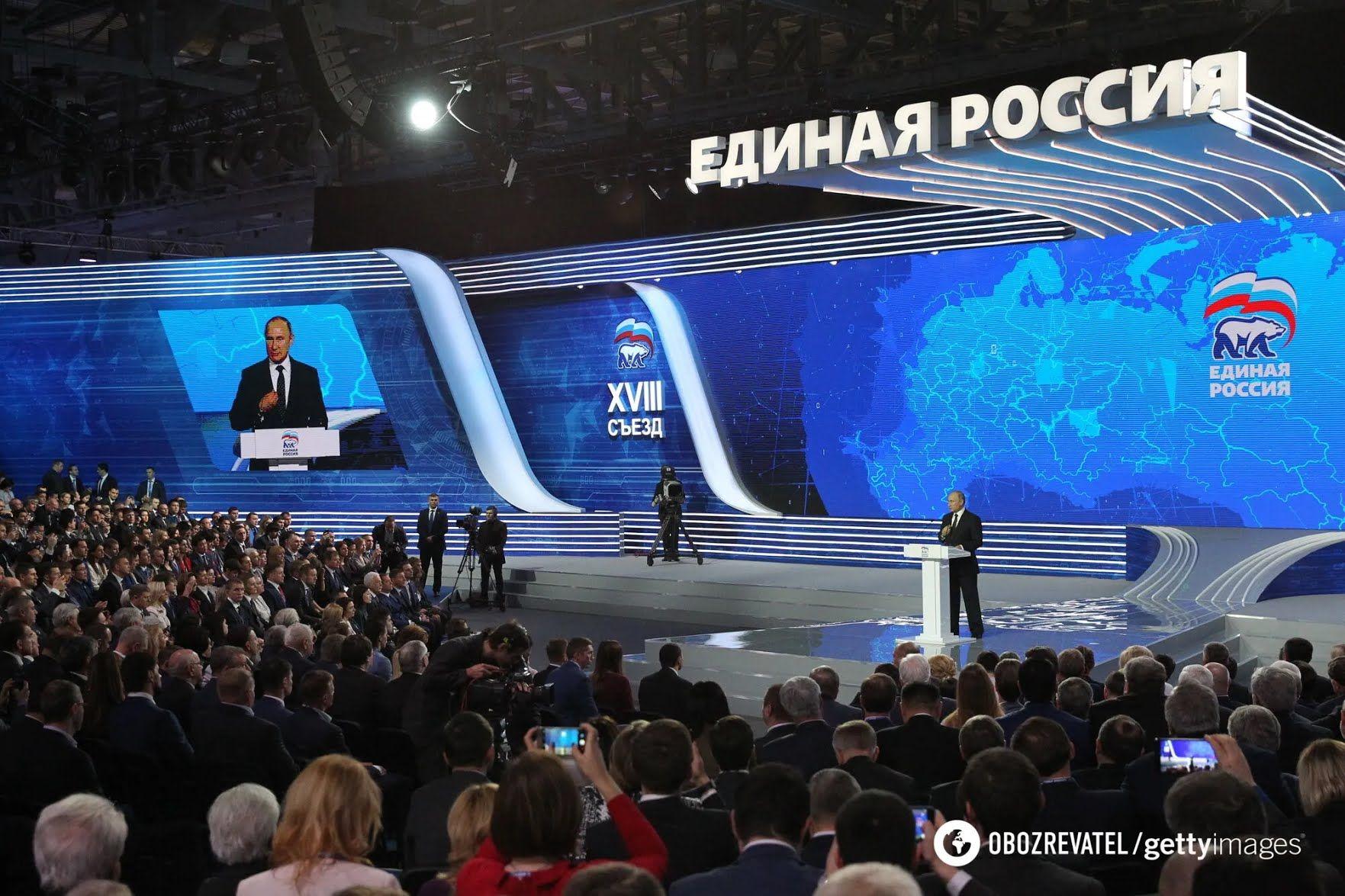 """Путин не с состоянии поднять рейтинг """"Единой России""""."""