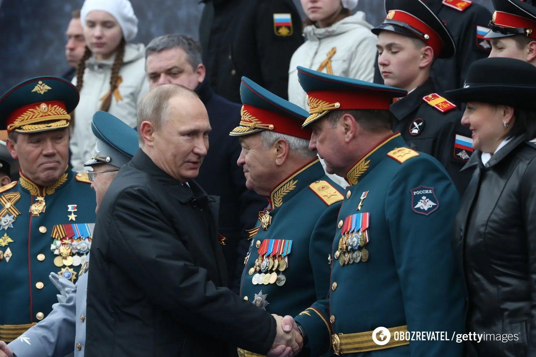 Парад станет позором для Путина.