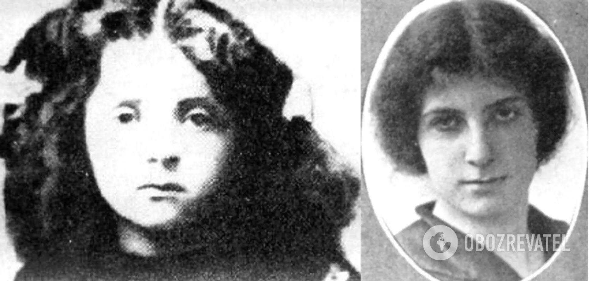 Голда Меир в детстве / юности