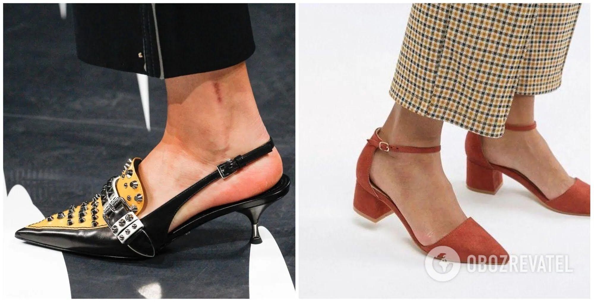 Такие туфли на невысоком трехсантиметровом каблучке создадут романтичный образ и добавят женственности.
