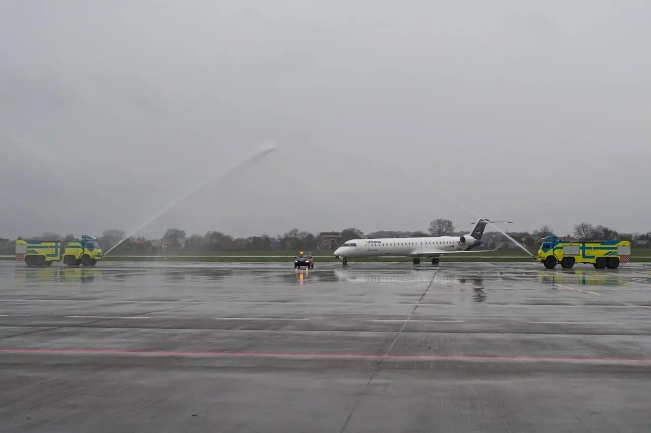Во Львове приземлился самолет Lufthansa из Франкфурта-на-Майне