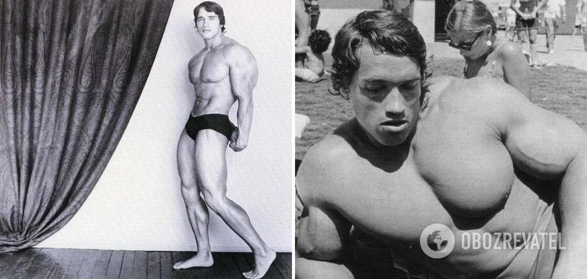 Тяжелая атлетика подарила Шварценеггеру такую потрясающую форму.
