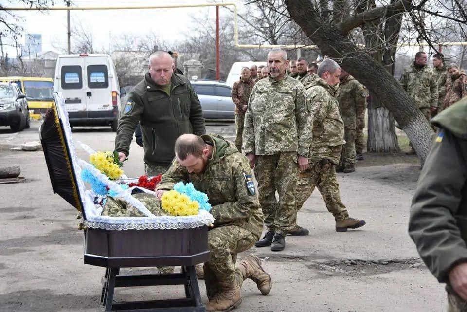 10 гірсько-штурмова бригада ЗСУ провела Сергія Сулиму в останню путь
