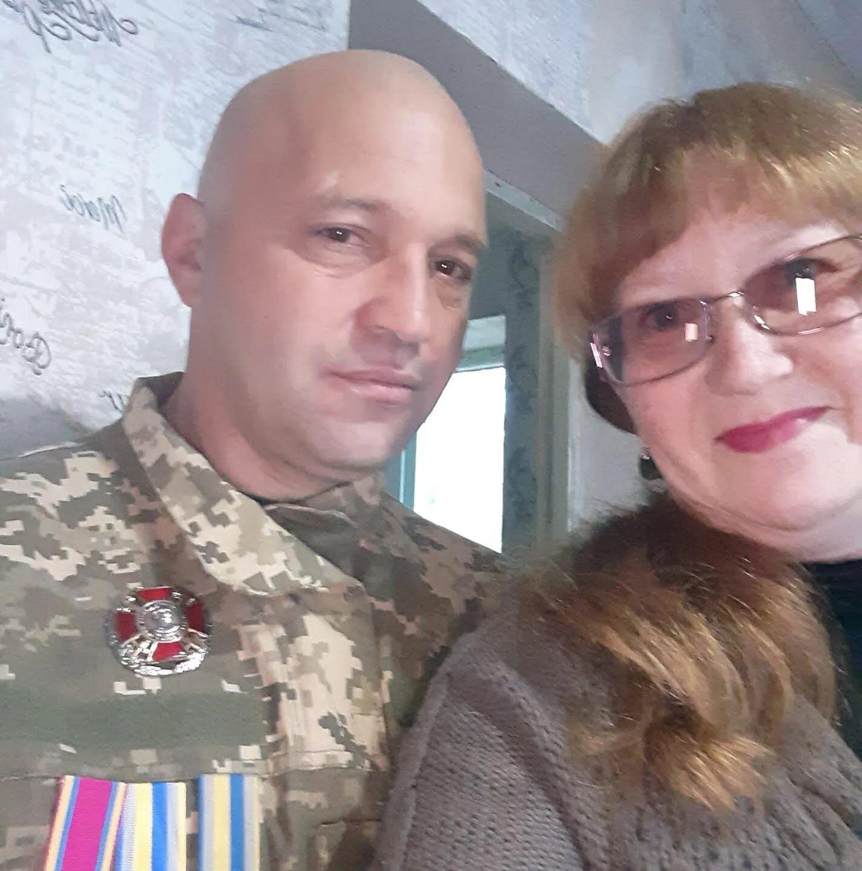 Віктор із дружиною Світланою
