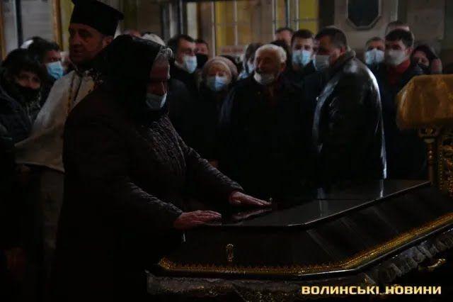 Прощання із загиблим воїном ЗСУ Сергієм Сулимою