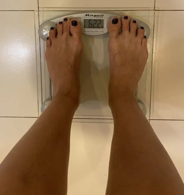 Планка помогла ей снизить вес на два кг