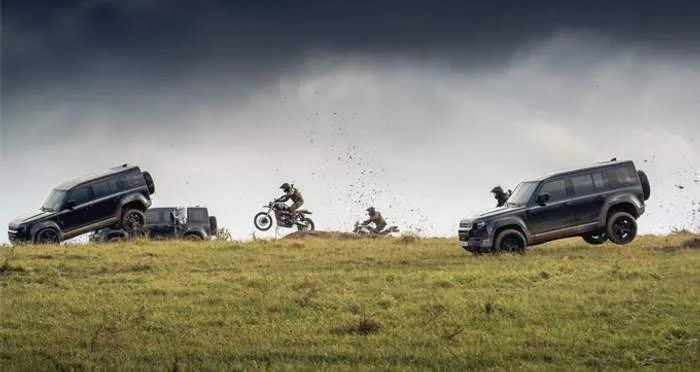 """Land Rover Defender на съемках фильма """"007: не время умирать"""""""