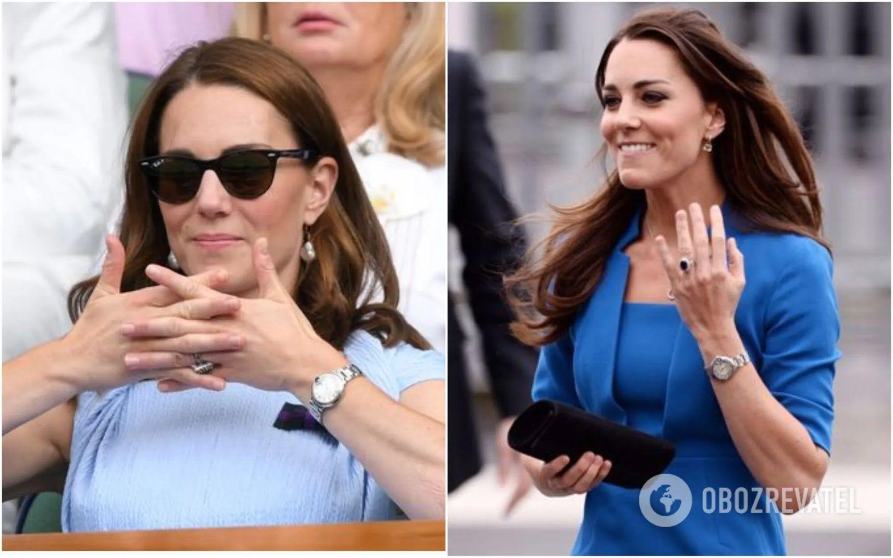 Кейт Миддлтон предана часам от Cartier