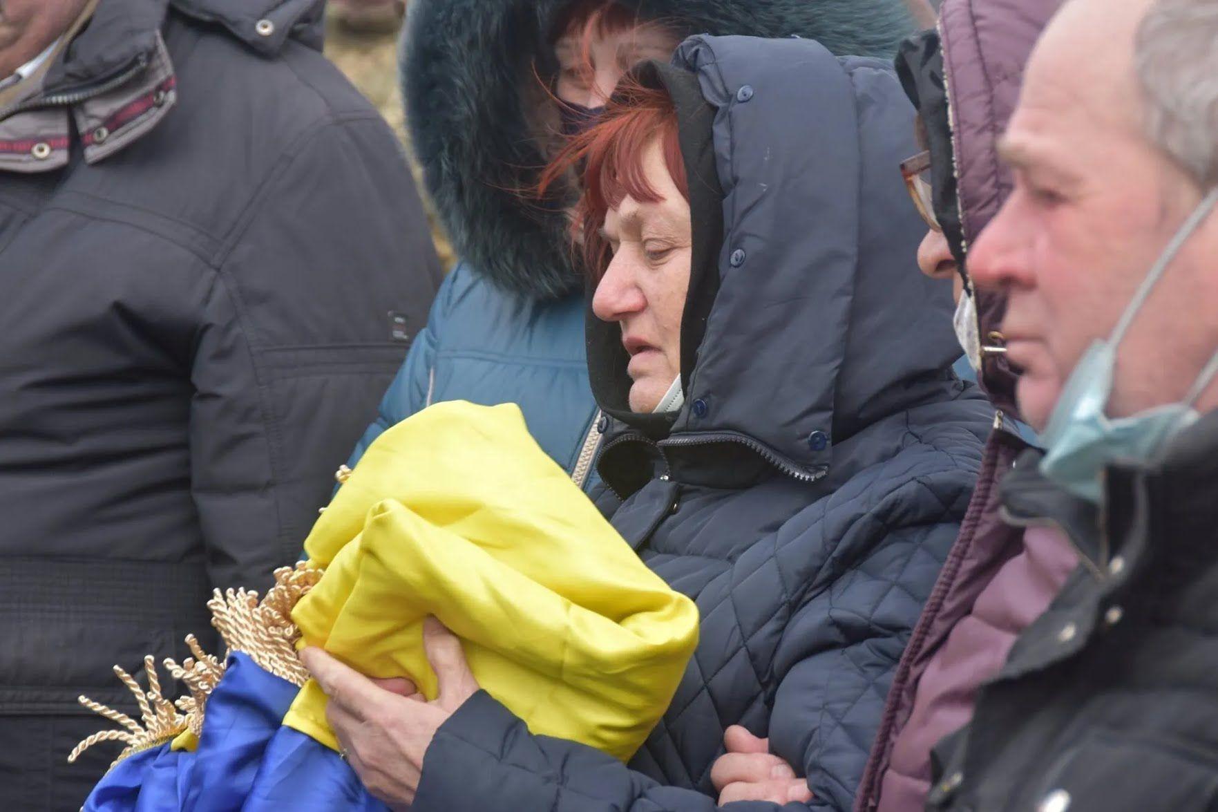 Мать погибшего Владимира Шпака