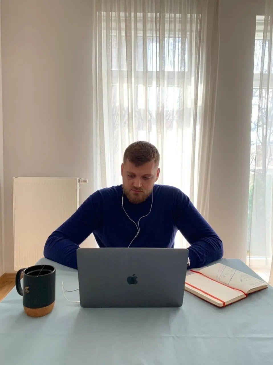 Владимир Кравец на онлайн-заседании Киевсовета