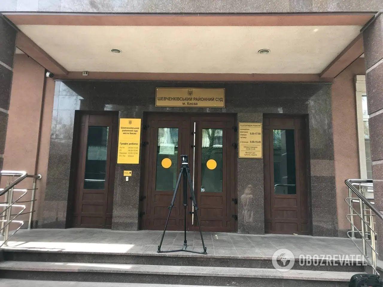 Виновнику смертельного ДТП в Киеве избирают меру пресечения. Фото из зала суда