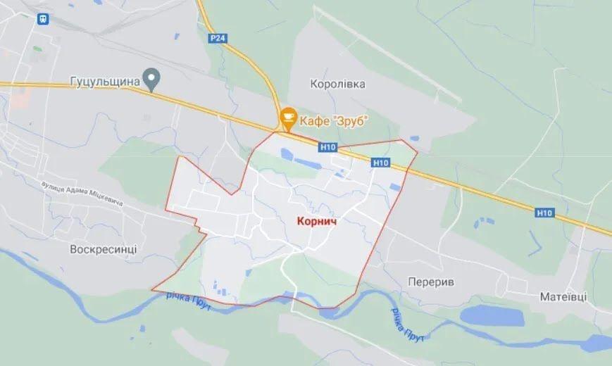 ДТП произошло в селе Корнич на Прикарпатье