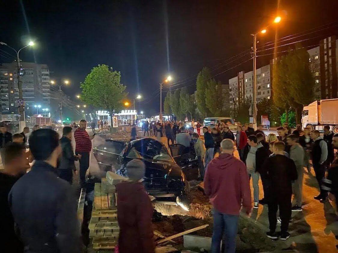 В северной части города Обухов Киевской области произошло ДТП