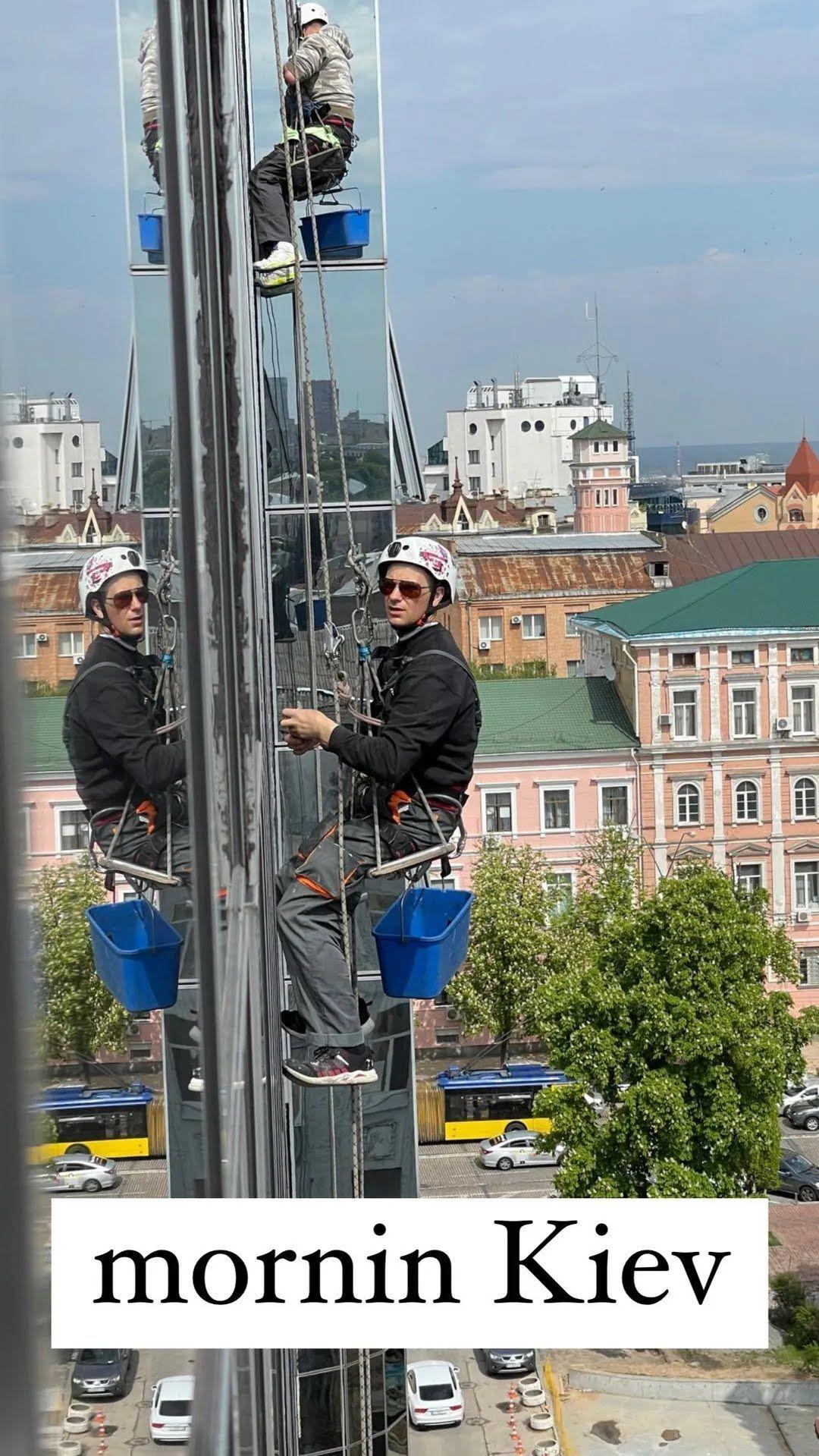 Тина Кунаки прилетела в Киев для съемок в рекламе