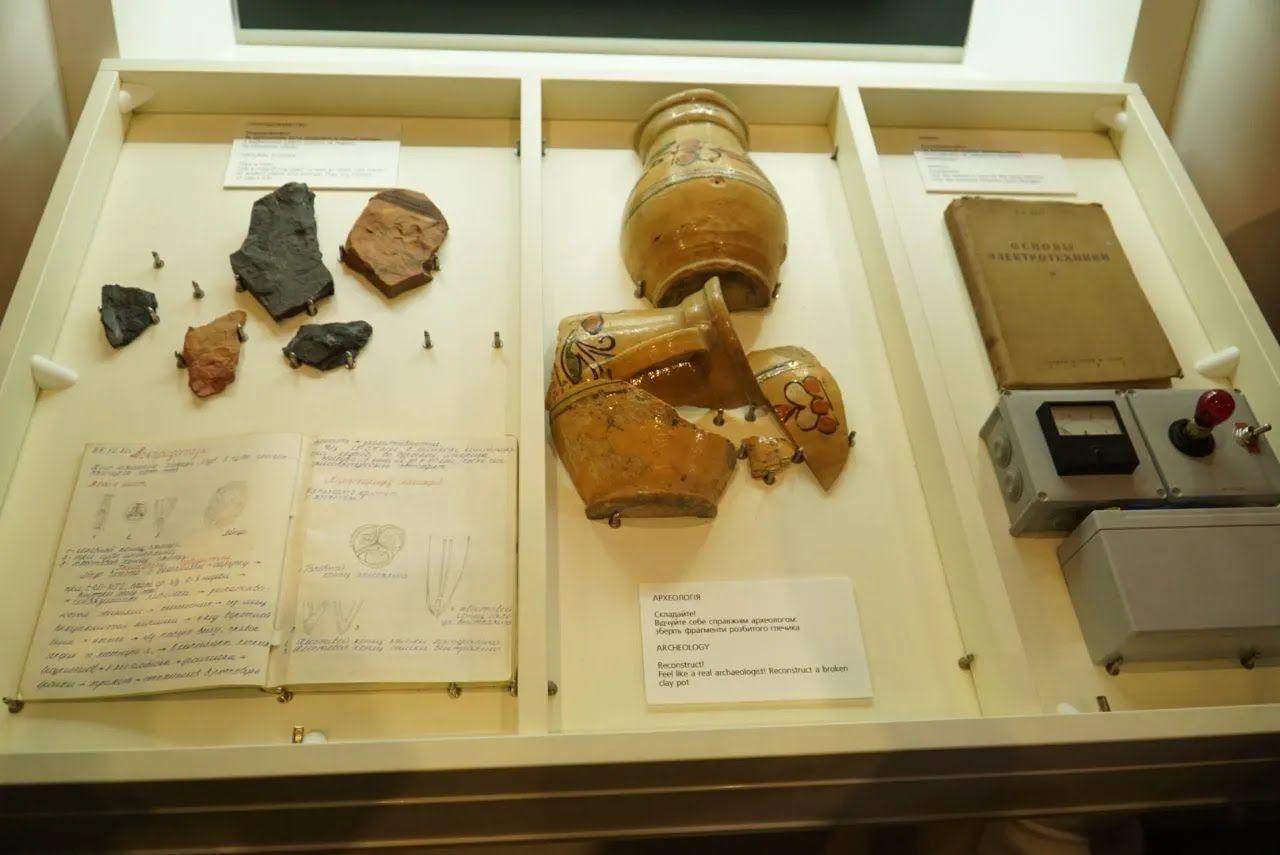 Экспонаты в Музее истории.