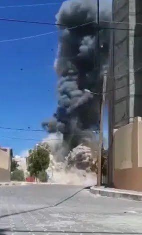Взрыв дома Халиля-Аль-Хайи