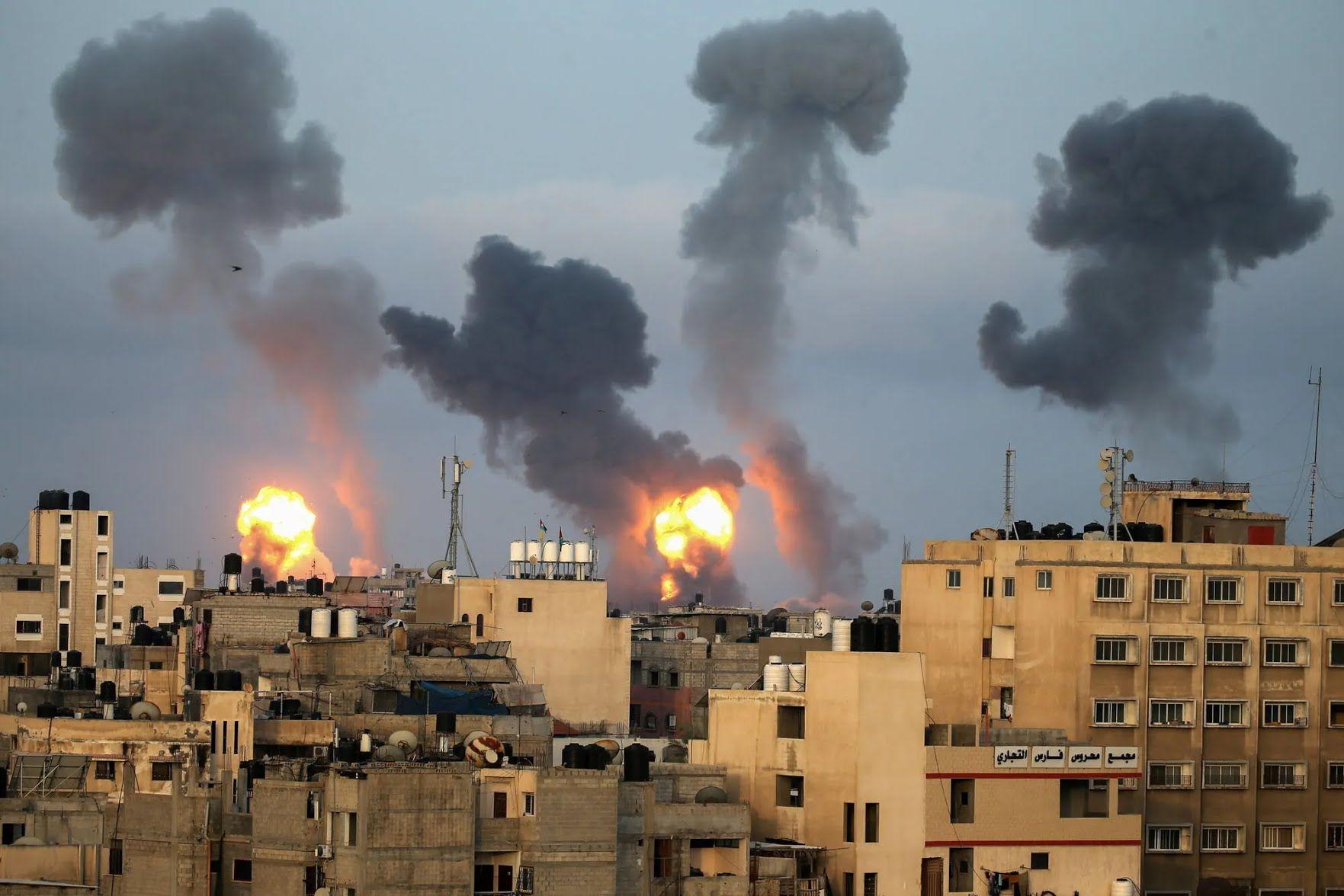 Конфликт в Израиле