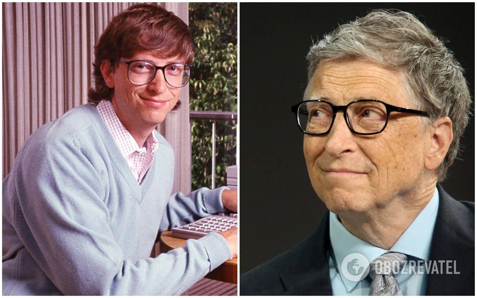 Білл Гейтс пропускав уроки, щоб посидіти в комп'ютерному класі.