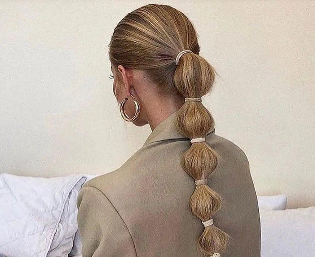 Зачіска бабл-хвіст