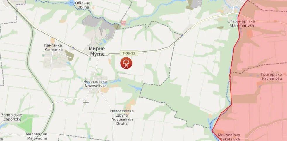 патруль СММ обнаружил 17 танков на полигоне вблизи населенного пункта Мирное