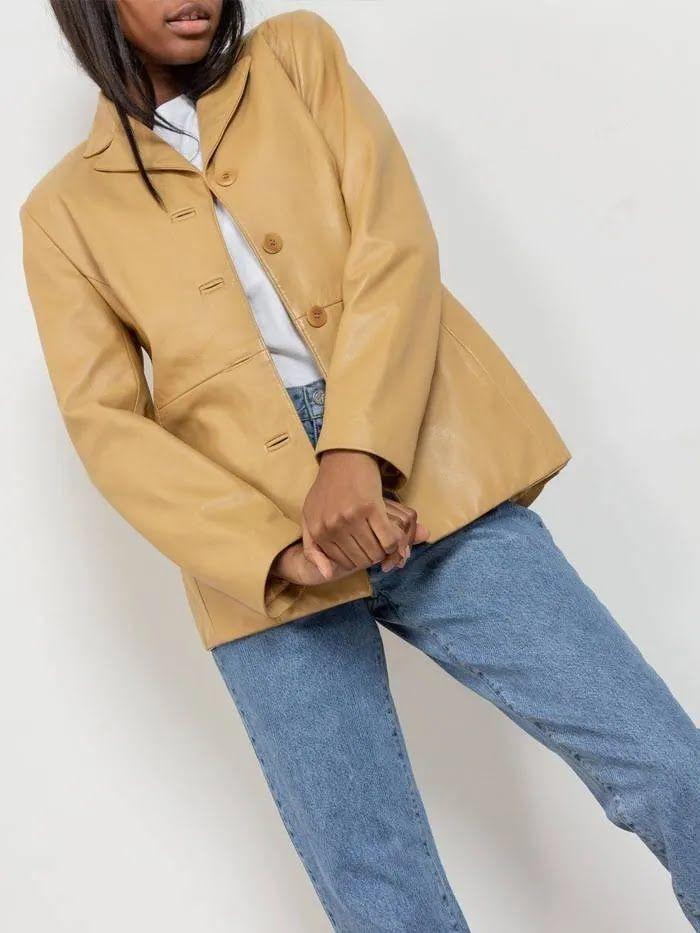 Винтажные пиджаки в тренде 2021 года