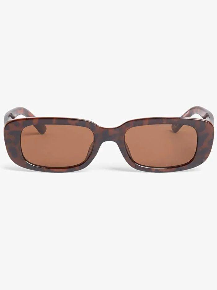 Солнцезащитные очки Monki в овальной оправе