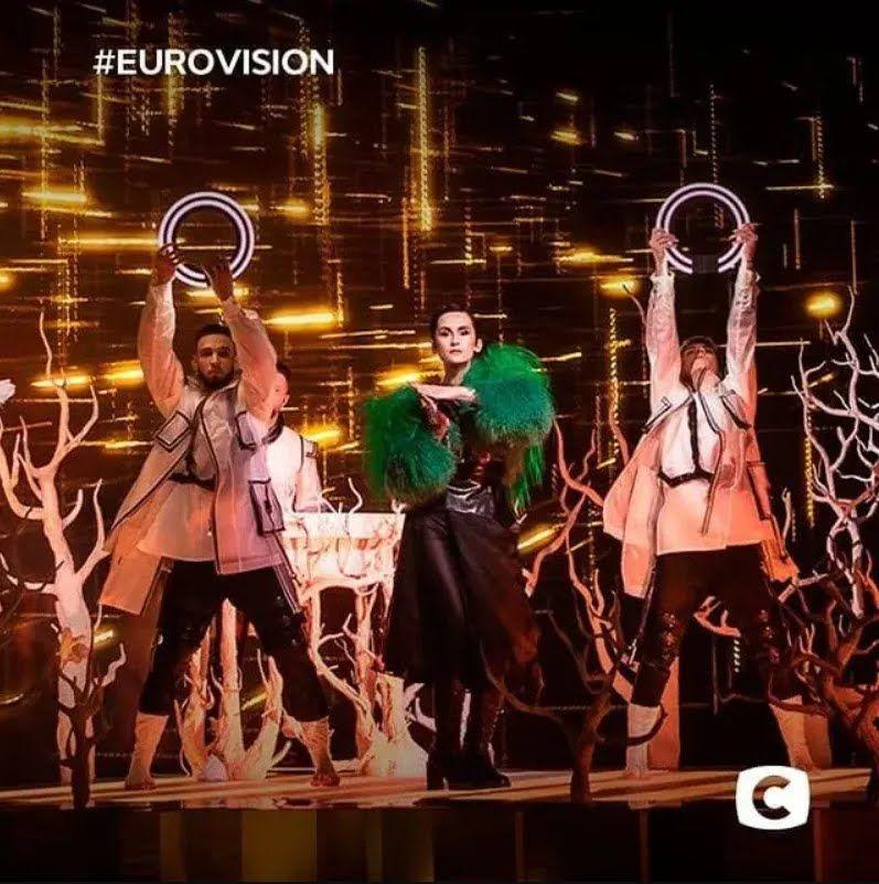 Український гурт Go_A виступив у півфіналі Євробачення з піснею SHUM
